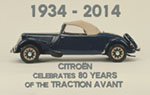1934 - 2014 80 years of the Traction Avant