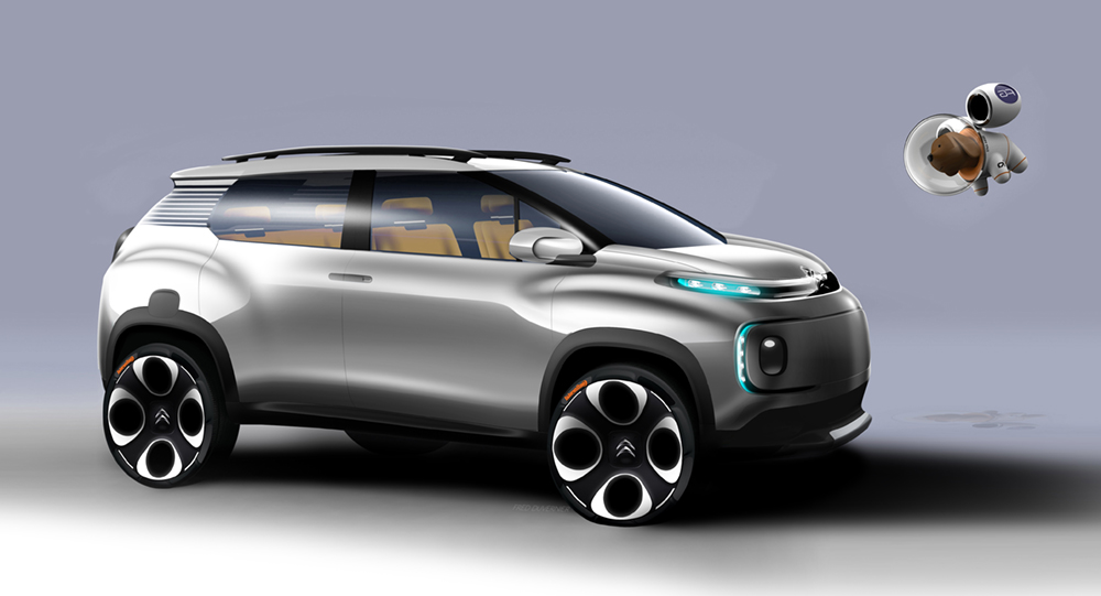 Suv >> Genesis of the Citroën C-Aircross Concept